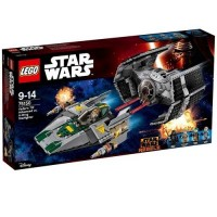 LEGO Star Wars TIE. Advanced kontra - zdjęcie zabawki, gry