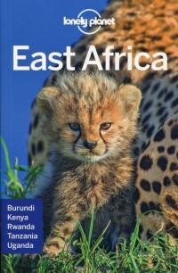Lonely Planet. East Africa - okładka książki