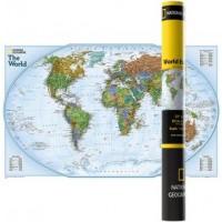 Mapa ścienna polityczna świat explorer 1:42 334 000 - okładka książki