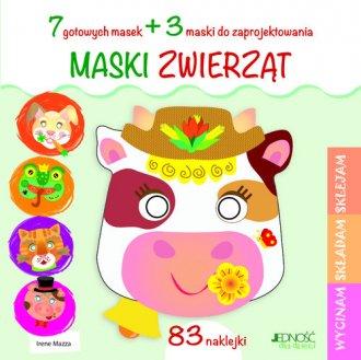 Maski zwierząt - okładka książki