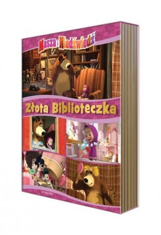 Masza i niedźwiedź. Złota biblioteczka - okładka książki