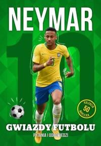 Neymar. Gwiazdy futbolu - okładka książki