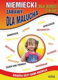 Niemiecki dla dzieci 3 3-6 lat. - okładka podręcznika