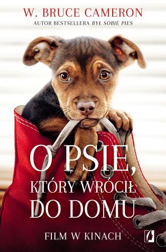 O psie, który wrócił do domu - okładka książki