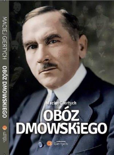 Obóz Dmowskiego - okładka książki