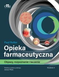Opieka farmaceutyczna - okładka książki