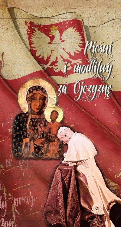 Pieśni i modlitwy za ojczyznę - okładka książki
