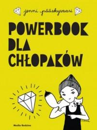 Powerbook dla chłopaków - okładka książki
