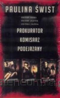 Prokurator / Komisarz / Podejrzany. PAKIET - okładka książki