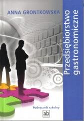 Przedsiębiorstwo gastronomiczne - okładka podręcznika