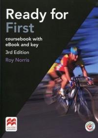 Ready for First. Książka ucznia z kluczem   eBook - okładka podręcznika