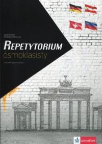 Repetytorium ósmoklasisty. Szkoła podstawowa. Język niemiecki z arkuszem egzaminacyjnym - okładka podręcznika