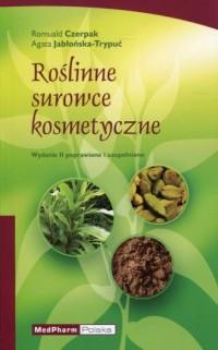 Roślinne surowce kosmetyczne - okładka książki