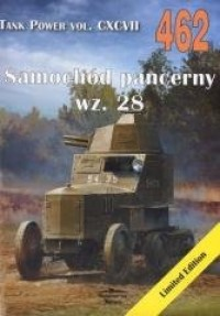 Samochód pancerny wz. 28. Tank Power vol. 462 - okładka książki