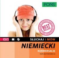 Słuchaj i mów. Niemiecki konwersacje (+ CD) - okładka podręcznika