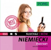 Słuchaj i mów. Niemiecki. Kurs podstawowy (+ CD) - okładka podręcznika