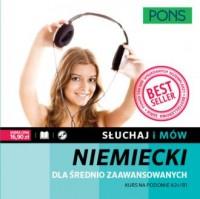 Słuchaj i mów. Niemiecki. Kurs średnio zaawansowany (+ CD) - okładka podręcznika