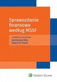 Sprawozdanie finansowe według Międzynarodowych Standardów Sprawozdawczości Finansowej - okładka książki