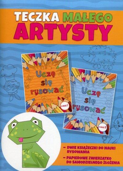 Teczka małego artysty - okładka książki