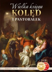 Wielka księga Kolęd i Pastorałek - okładka książki