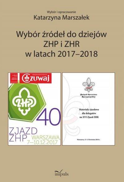 Wybór źródeł do dziejów ZHP i ZHR - okładka książki