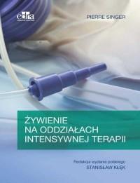 Żywienie na oddziałach intensywnej terapii - okładka książki