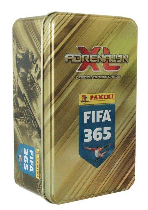 Adrenalyn XL FIFA 365. Duża puszka - zdjęcie zabawki, gry