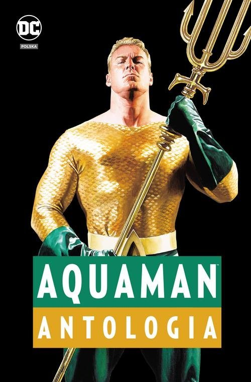 Aquaman. Antologia - okładka książki