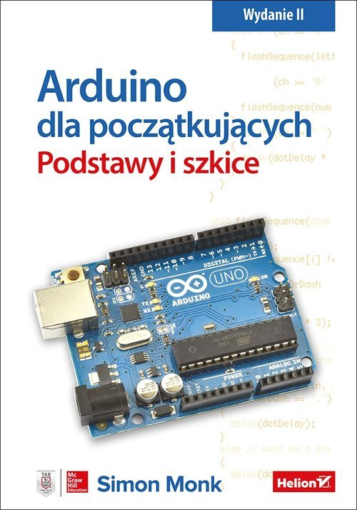Arduino dla początkujących. Podstawy - okładka książki