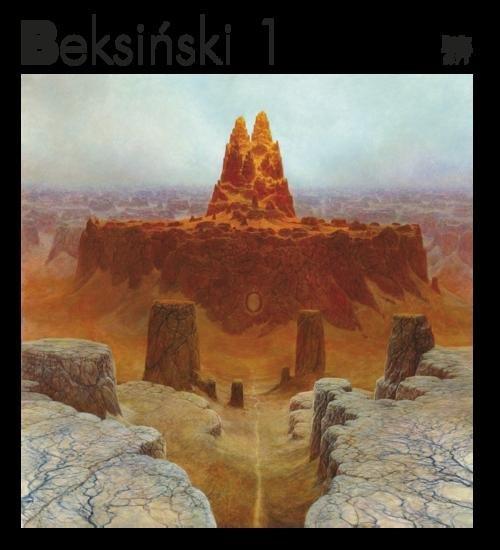 Beksiński 1 - okładka książki