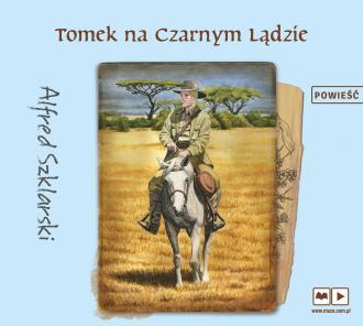 Tomek na czarnym lądzie przygody - pudełko audiobooku