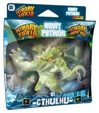 CTHULHU nowy potwór. Dodatek do gier Potwory w Tokio i Potwory w Nowym Jorku! - zdjęcie zabawki, gry