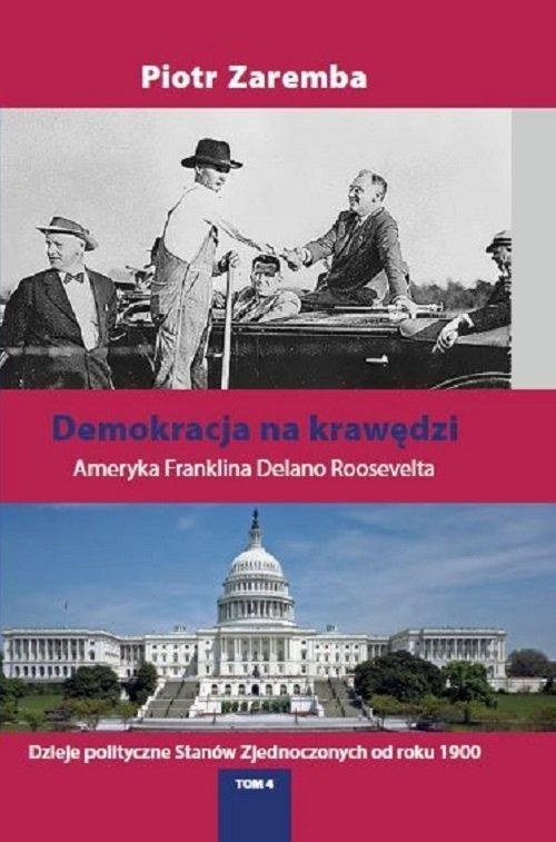 Demokracja na krawędzi. Ameryka - okładka książki