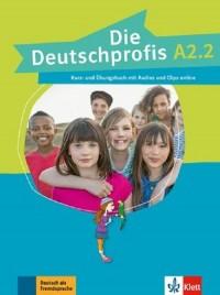 Die Deutschprofis A2.2. Podręcznik z ćwiczeniami (+ CD) - okładka podręcznika