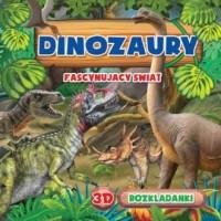 Dinozaury rozkładanki 3d - okładka książki