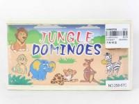 Domino Zwierzątka - zdjęcie zabawki, gry