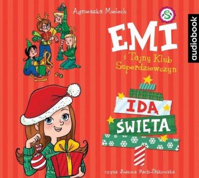Emi i Tajny Klub Superdziewczyn - pudełko audiobooku