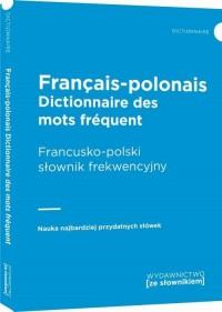 Francusko-polski słownik frekwencyjny - okładka książki