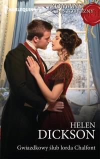 Gwiazdkowy ślub lorda Chalfont. Seria: Romans historyczny - okładka książki