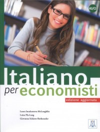 Italiano per economisti - edizione aggiornata - okładka podręcznika