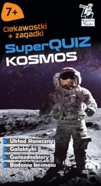 Kapitan Nauka Kosmos Super Quiz - okładka książki