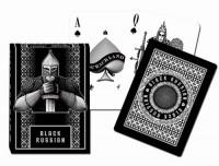 Karty Extra Black Russian 1 talia - zdjęcie zabawki, gry