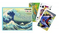 Karty Hokusai, Wielka fala 2 talie - zdjęcie zabawki, gry