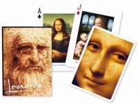 Karty Leonardo 1 talia - zdjęcie zabawki, gry