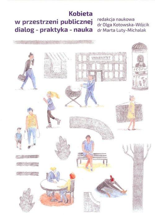 Kobieta w przestrzeni publicznej - okładka książki