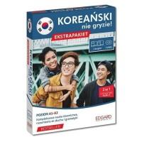 Koreański nie gryzie! Ekstrapakiet. Poziom A1-A2 - okładka podręcznika