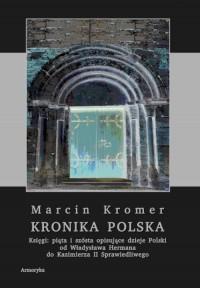 Kronika polska. Księgi: piąta i szósta - okładka książki