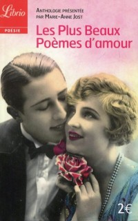 Les Plus Beaux Poemes damour - okładka książki