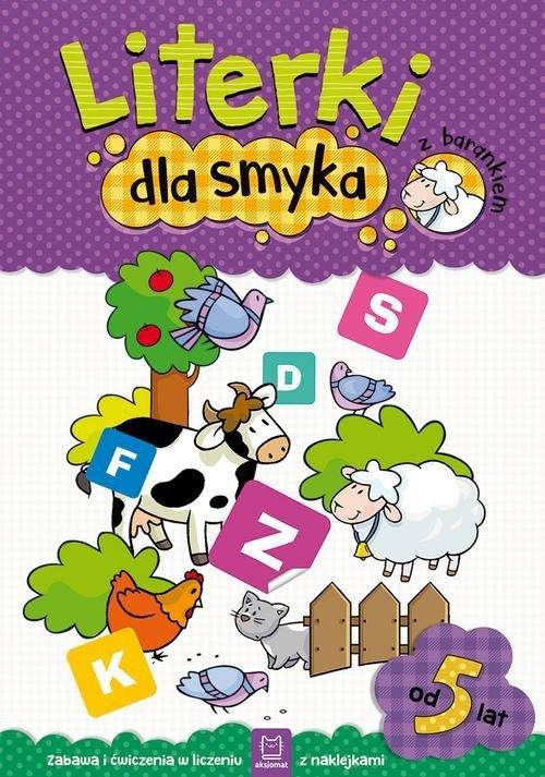 Literki dla smyka z barankiem - okładka podręcznika