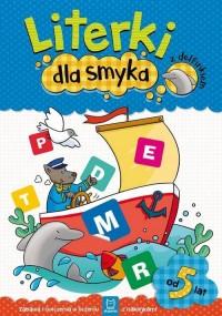 Literki dla smyka z delfinkiem - okładka książki
